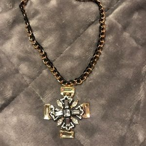 Betsey Johnson gothic cross necklace
